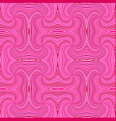 pink abstract psychedelic seamless striped spiral vector image