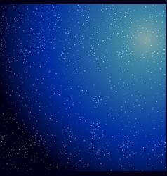 star night galaxy vector image