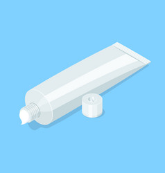 medical cream gel tube vector image