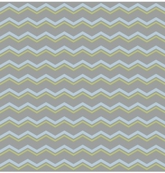 Tile pattern with pastel blue and green zig zag vector