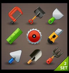 Tools icon set-2 vector