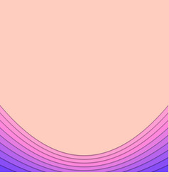 abstract background template from curved layers vector image