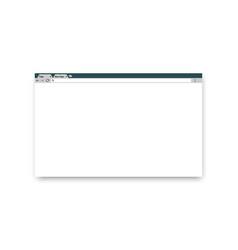 browser window window concept internet browser vector image