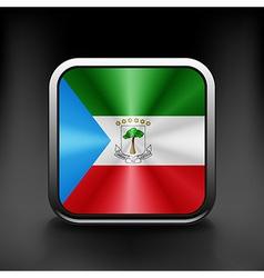 Equatorial Guinea icon flag national travel icon vector