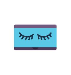 Eyelash icon lash icon vector