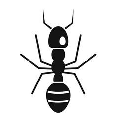 Farmer ant icon simple style vector