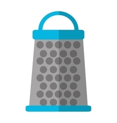 Isolated kitchen grater design vector