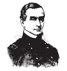 major robert anderson vintage vector image