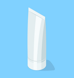 Medical cream gel tube vector