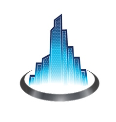 Skyscraper icon vector image vector image