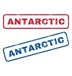 Antarctic Rubber Stamps vector