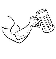 Beer eps vector