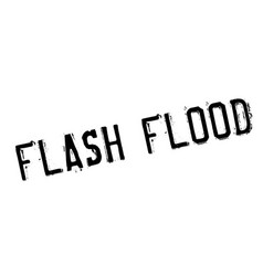 Flash flood rubber stamp vector