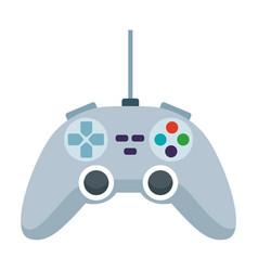 game console control icon cartoon vector image