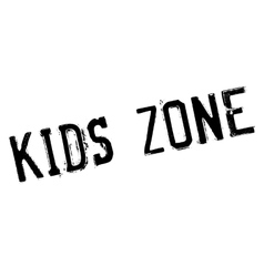 Kids zone stamp vector