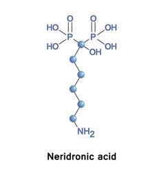 Neridronic acid is a bisphosphonate vector