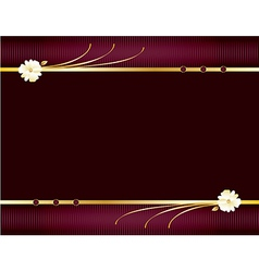 Purple and gold elegant background 1 vector