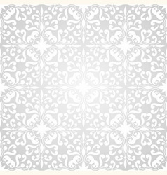 Seamless floral wallpaper pattern vector