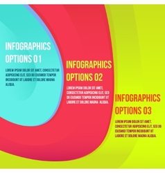 infographics colorful vector image