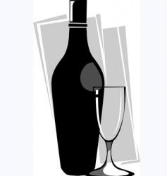 goblet vector image vector image