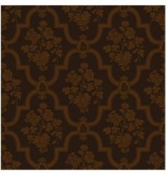 rose floral pattern vector image vector image