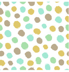 paint color drops vector image vector image