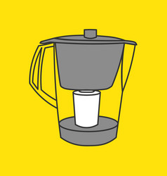 2017-01 kitchen vector image