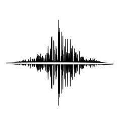 audio equalizer player icon simple black style vector image
