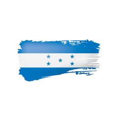 honduras flag on a white vector image