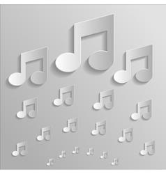 Icon music vector