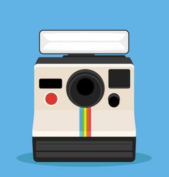 instant camera vector image