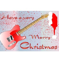Rocking Christmas vector image