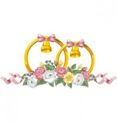 wedding decor vector image