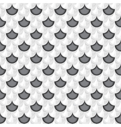 Seamless grayscale river fish scales vector image vector image