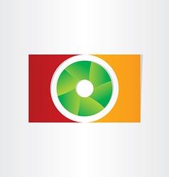 shutter camera photo design vector image
