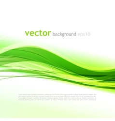 Abstract colorful waved background vector image