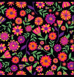 Dia de los muertos seamless pattern with vector
