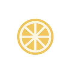 lemon icon sign symbol vector image