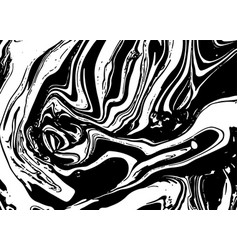 Monochrome ebru stains vector