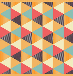 Pattern vintage card vector