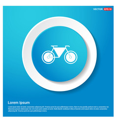 retro bike icon vector image