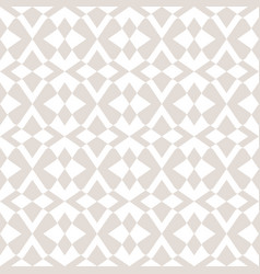 subtle seamless pattern with star shapes cross vector image