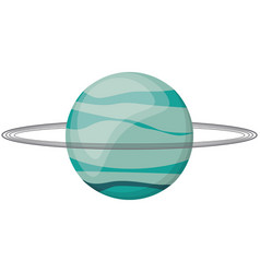 uranus planet space image vector image