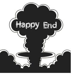 atomic explosion clip art vector image