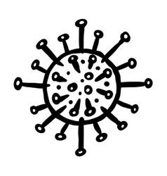 Coronavirus pandemic or covid-19 wuhan disease vector