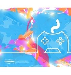 Creative controller Art vector image