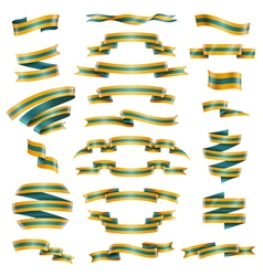 Decorative Ribbons Set vector