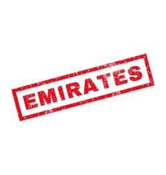 Emirates Rubber Stamp vector