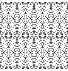 Line lace seamless pattern vector