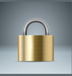 lock icon business infographic vector image